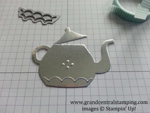 Cuppa Teapot Emboss 5