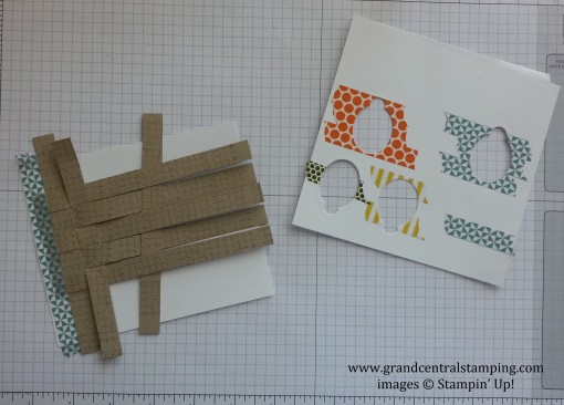 Washi Tape for Easter Card