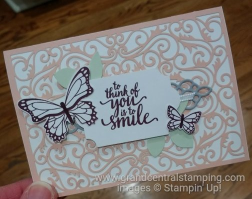 Beautifully Detailed Laser Cut DSP Smile Note